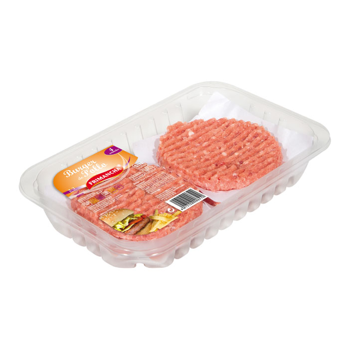 Bta. 4 u Burger Meat Mixta Pollo 320 g